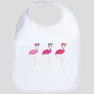Cool Flamingos Bib